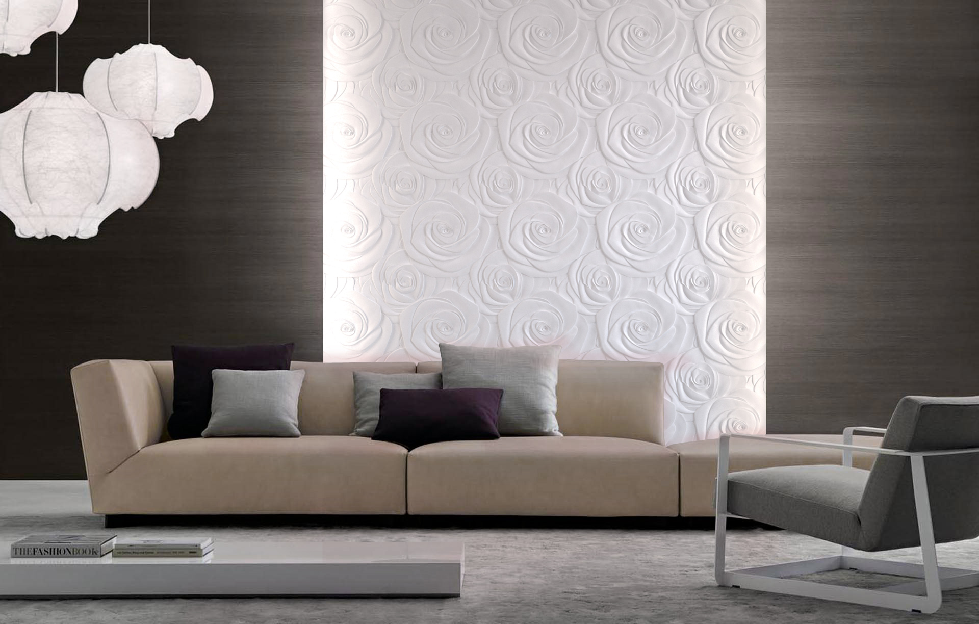 Maintenance od 3D Tiles wall panels