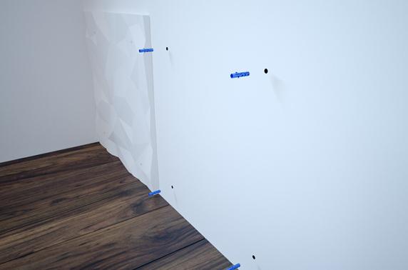 Vijci i tipli za instaliranje zidnih panela