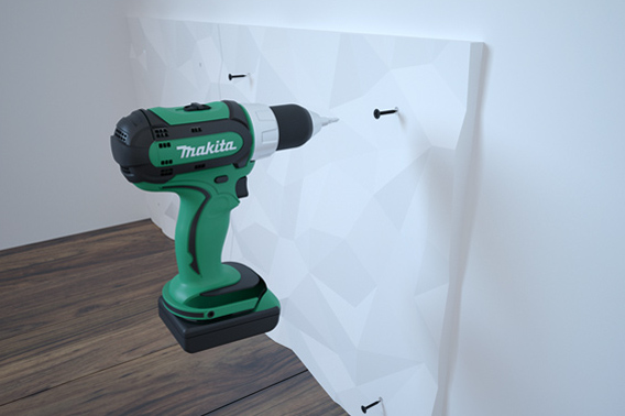3D paneli montaža
