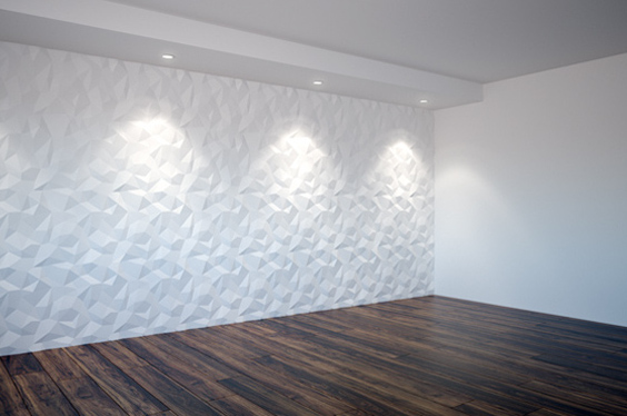Maintenance and protection of 3D wall panels