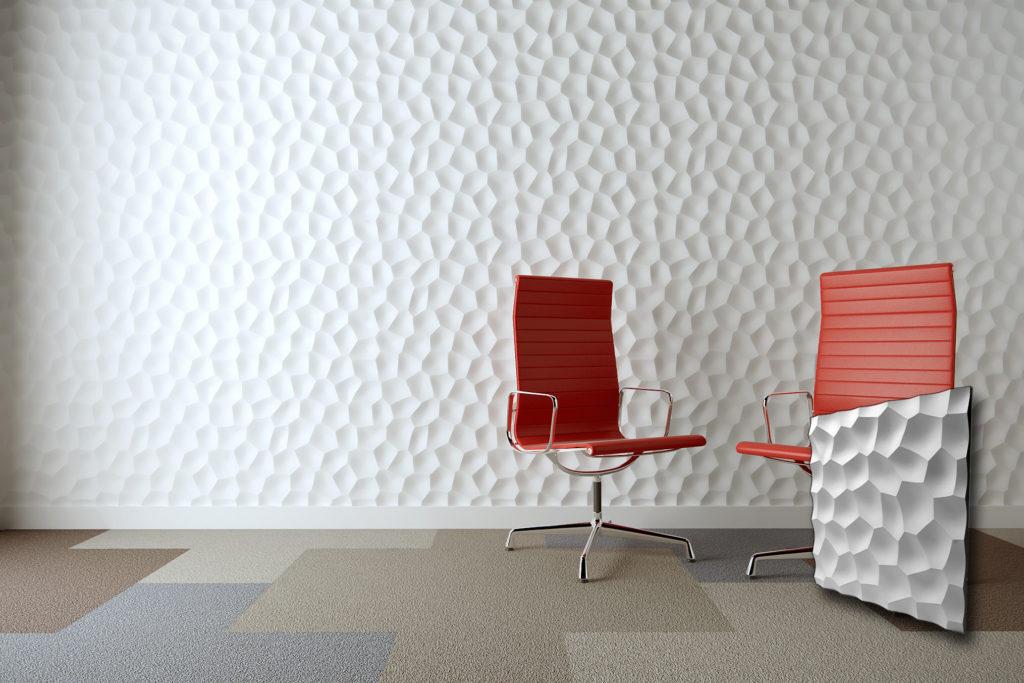 Moderni zidni paneli u obliku heksagona