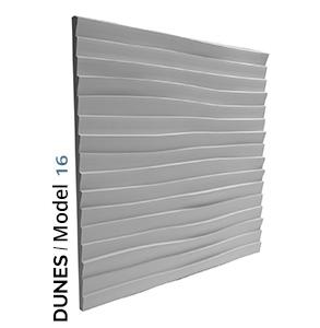 Dunes model 3D Tiles zidni panel