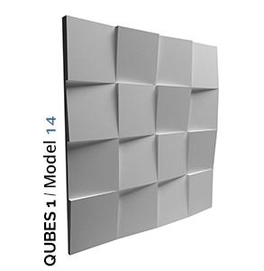 Primjer kockastog zidnog panela