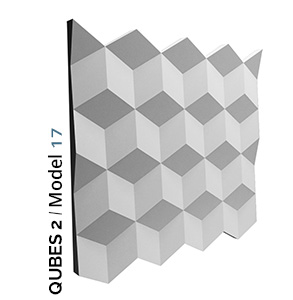 Model kockastog 3d panela