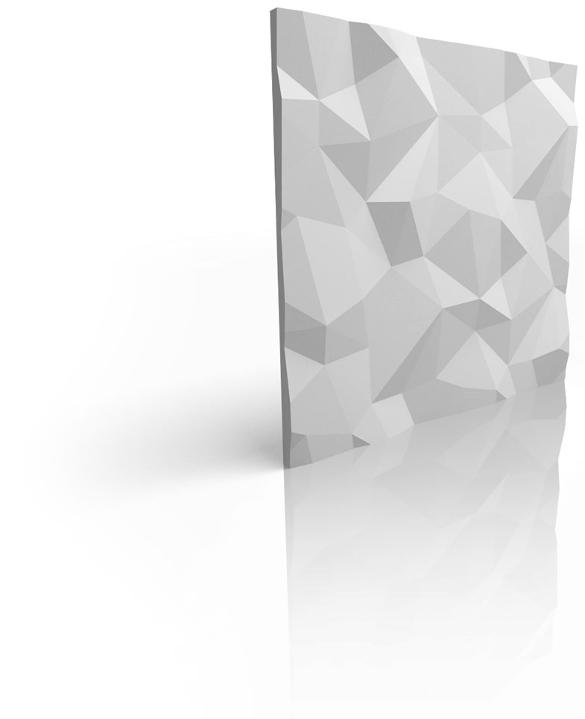 3D Tiles zidni paneli