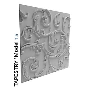 Tapestry model 3D Tiles zidni panel
