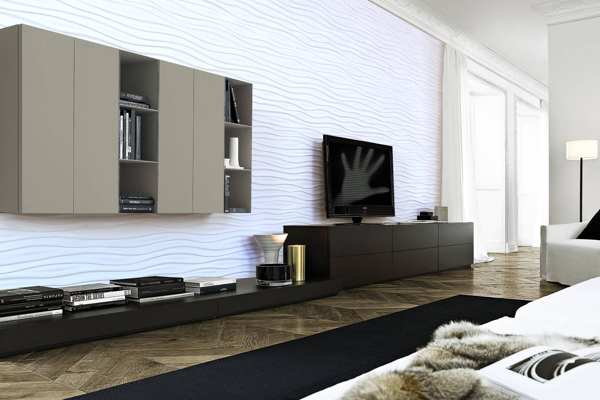 Is it possible to order customized 3D wall panels?
