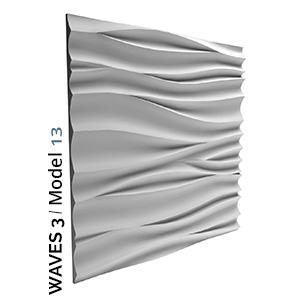 Primer valovitog zidnog panela