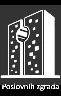 Ikonica poslovnih zgrada