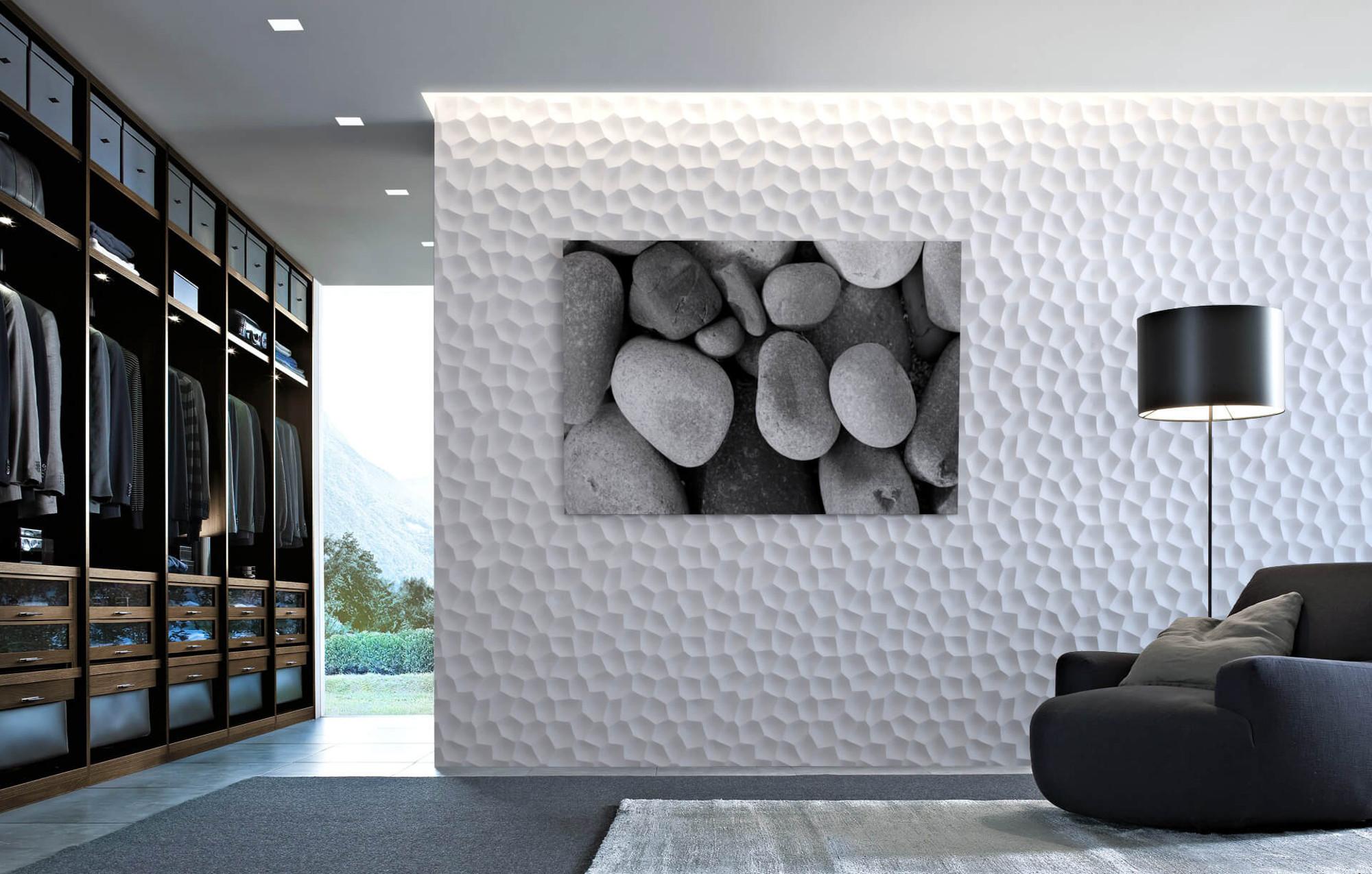 Je li moguće na 3D zidni panel montirati lampu ili sliku?