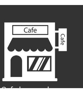 Ikonica koja predstavlja kafe bar i restoran