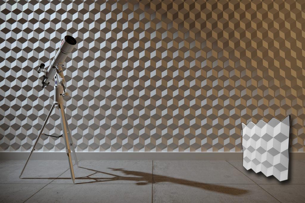 Četvrtasti zidni paneli za sve objekte
